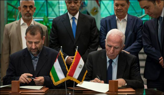 Hamas And Fatah Ends 10 Years Enmity Reconcile After Negotiations In Egypt