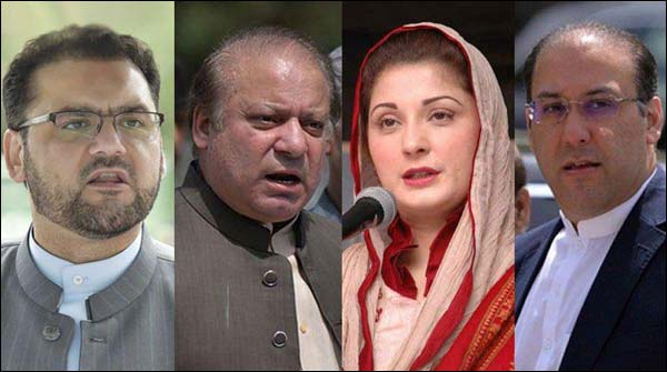 Sharif Family Expected Get Charge Sheet In Nab References