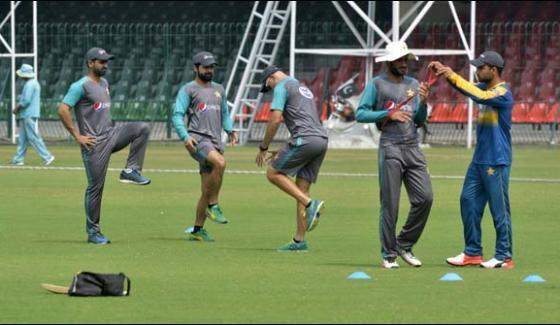 Pakistan Sri Lanka One Day Series Starts From Tomorrow