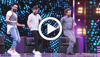 Virat Kohli Does Bhangra With Aamir Khan On Chat Show