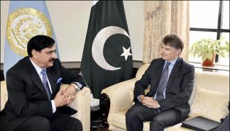 Nasir Janjua Meets Uk Representative