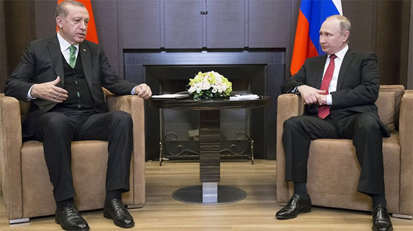 Putin Rajab Meet For Solution Of Syria Issue