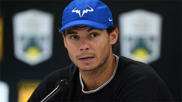 Number One Tennis Star Rafael Nadal Injured