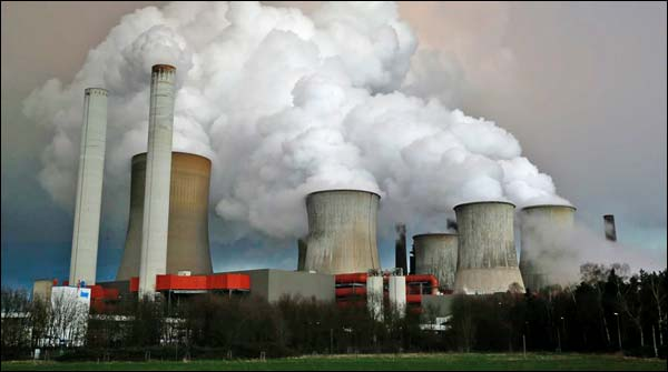 Increase In Carbon Dioxide Gas