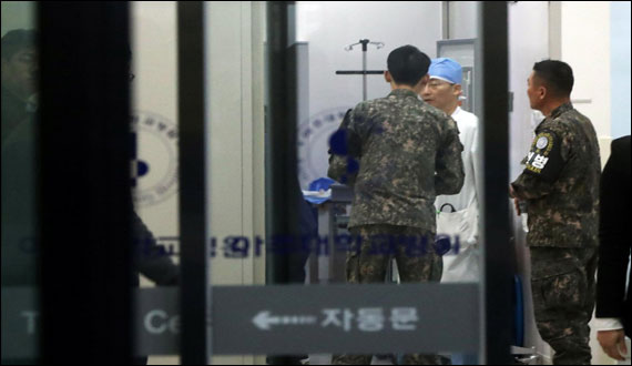 North Korean Soldier Critical After Escape