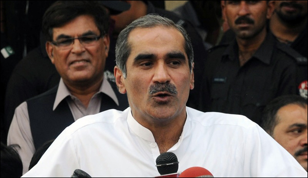 Rally Curious Person Brought The Politics Of War In Court Saad Rafique