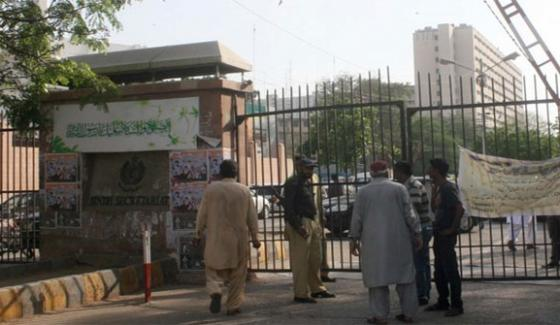 Most Of Security Cameras Of Sindh Secretariat Have Deteriorated