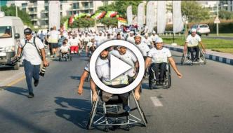 Dubai Police Set World Record For Organising Largest Wheelchair Race