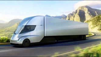 Solar Powered Semi Electric Truck Introduced