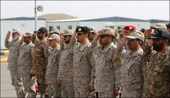 Saudi Arabia Joint Military Exercises Shahab 2