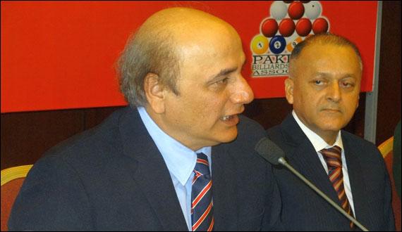 Alamgir Shaikh Nominated Member Of International Billiards And Snooker Federation
