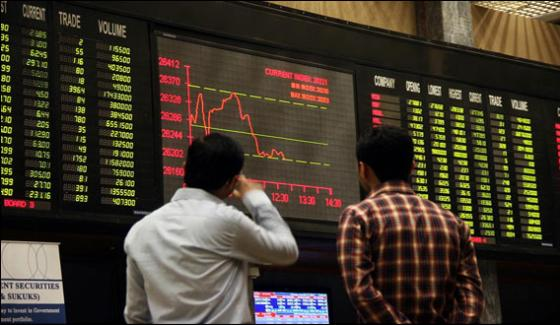 Pakistani Shares Market First Positive Day After 4 Days
