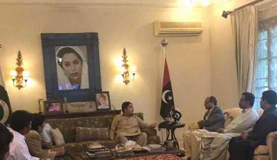 President Of Saeed Ghani Ppp Karachi Javed Nagguri Appointed General Secretary
