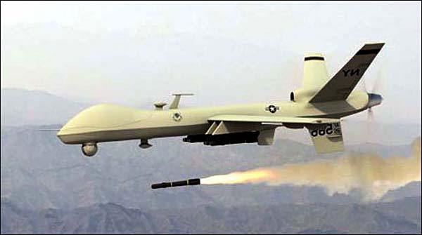 Drone Attack In Kurrun Agency