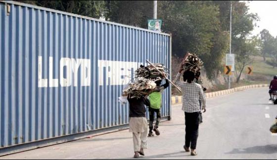 Dharna Three Days After Containers Were Removed From The Red Zone