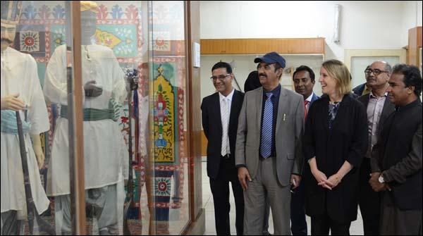 Us Consulate General Grace Shelton Visits Hyderabad Sindh