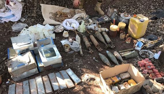 Operation Radd Ul Fasaad Heavy Weapons Recovered
