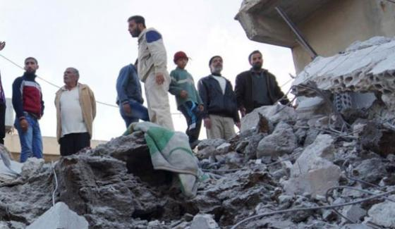 Russian Aerial Attack 21 Syrian Civilians Killed