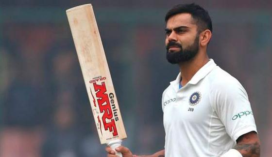 Icc Test Rankings Kohli Second