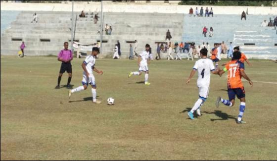 Qauid E Azam Football Krl Beat Sui Southern And Qualify For Final