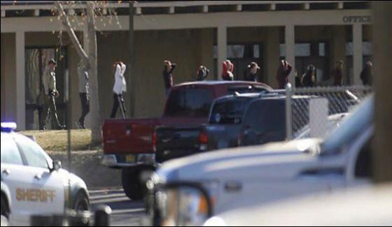 America Firing In The New Mexico School Three Students Killed