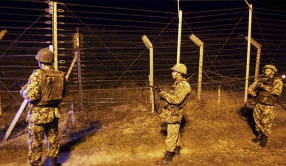 Firng On Loc Of Charikot From Indian Army Two Pakistan Citizen Martyr