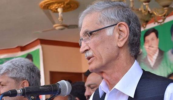 Imran Khans Demand Re Plan Election Is Correct Pervez Khattak