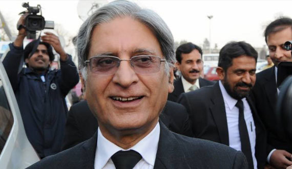 The Politics Of The N League Is Based On Double Policy From The First Day Aitzaz Ahsan