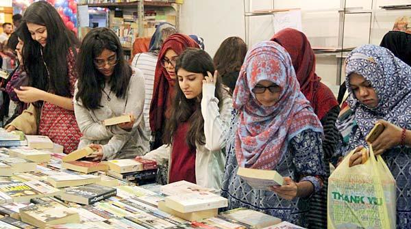 The Last Day Of The Ongoing Bookfare In Karachi Expo Center Today