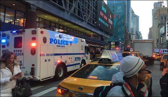 Blast At New York Bus Terminal Several Injured
