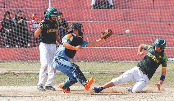 Pakistan Beat India In Dubai Baseball Final