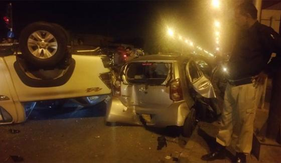 Accident In Different Area Of Karachi