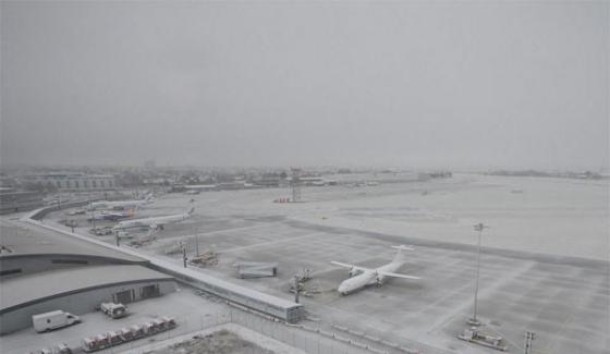 Snowfall Disturb Life System Of London Citizens