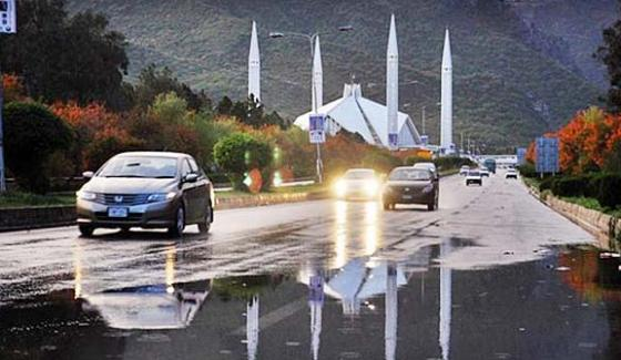 Winter Rains In Different Cities Including Islamabad Lahore