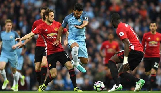 Manchester City Defeated Manchester United In The Derby Match