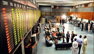 Pakistan Stock 596 Points Decreased In Hundred Index