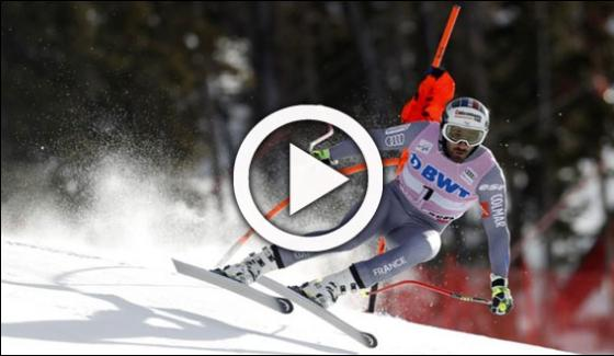 Alpine Skiing World Cup 2017 Held In France