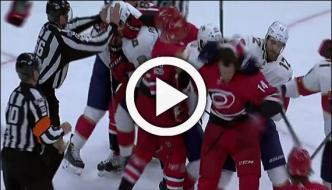 Ice Hockey Players Fought