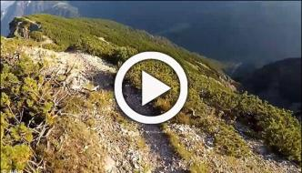Cycling On Mountain In Austria