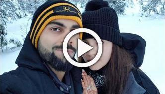 Selfie Of Virat And Anushka
