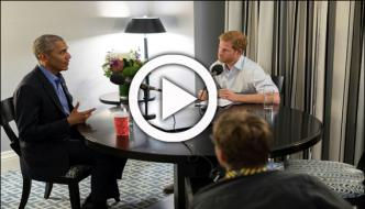 Prince Harry Worries Obama Confidence