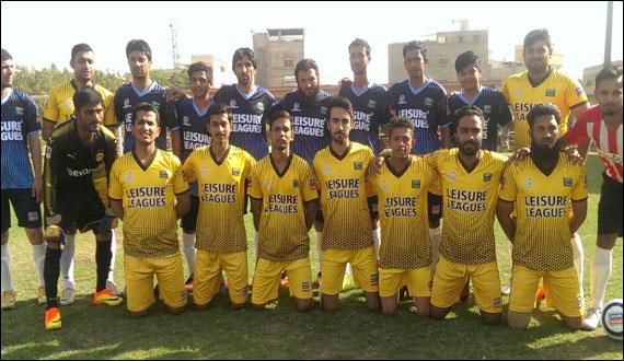 Leisure Leagues Football Lyari Team Won Their Match