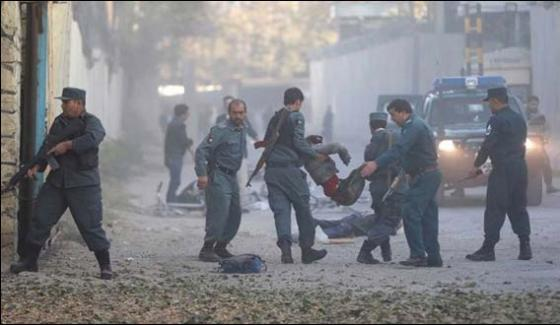 More Than 40 Casualties In Suicide Blast In Kabul