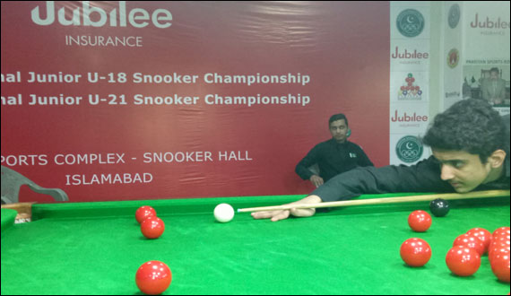 Jubilee Insurance Snoker Mudasar Shaikh And Umer Khan Qualifies For Final