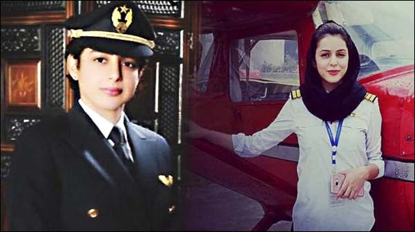 Pakistani Female Comerical Pilot