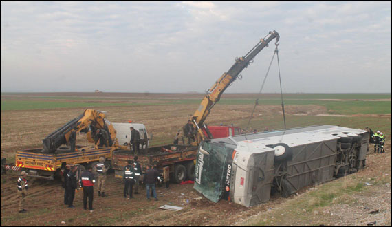 Nine Iraqi Nationals Killed In A Passenger Bus Accident In Turkey