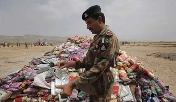 Pakistan Coast Guards Seizes 400 Kgs Drugs In Twin Operations