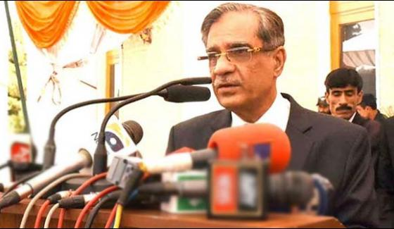 Sc Cant Act As Legislature Says Chief Justice Of Pakistan
