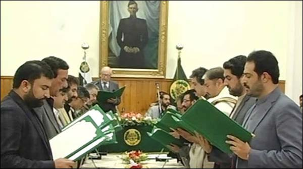 The New Ministers Of Balochistan Were Handed Over To The Departments