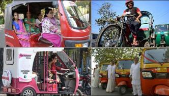 Female Driver Of Female Rides